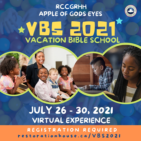 Vacation Bible School (VBS) - DAY 5