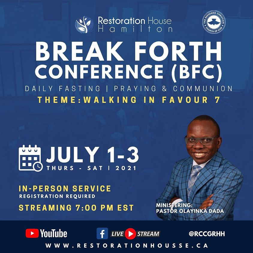 Break Forth Day 3- JULY