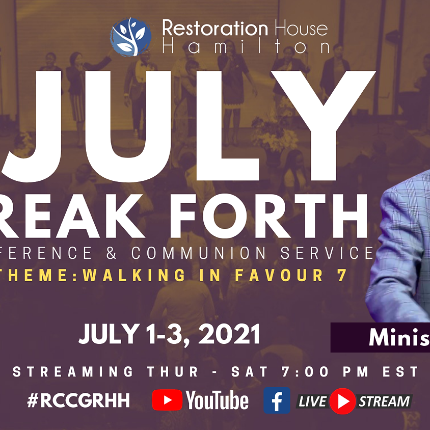 Break Forth Day 1- July  (1)