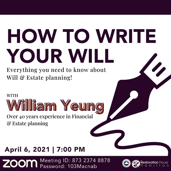 How to Write Your Will