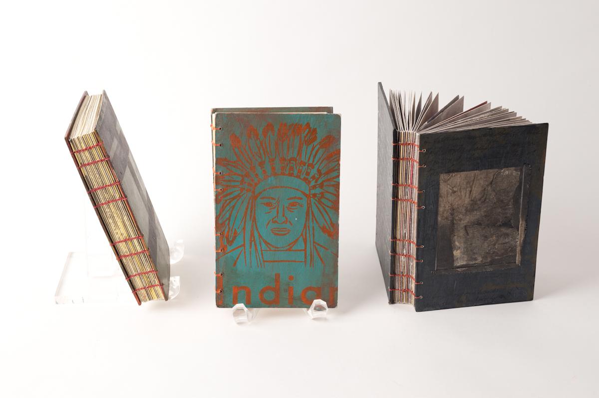 3 chain stitched journals