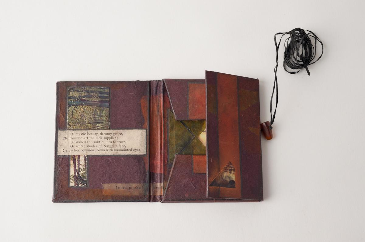 portfolio book open