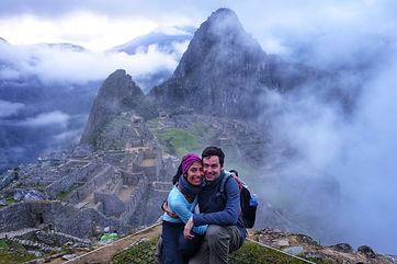Brent & Pri at Machu Picchu