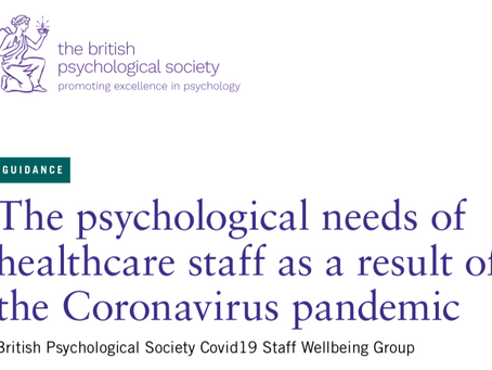 Psychological wellbeing during COVID