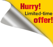 Hurry Limited-tim offer