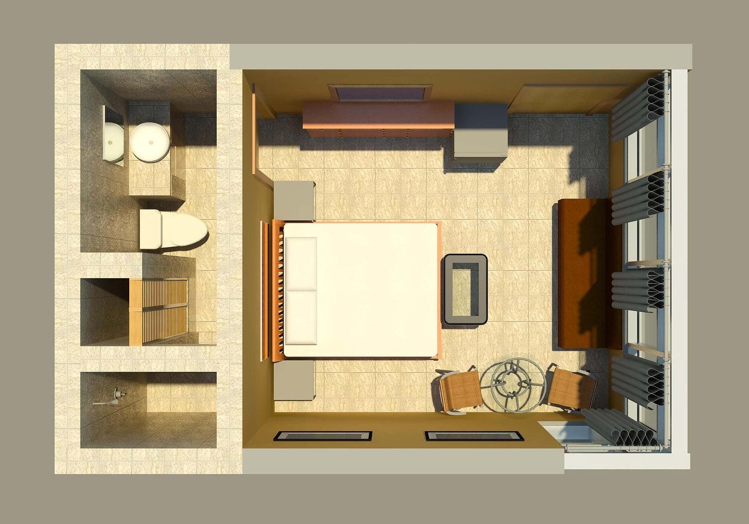 Suite mit einem Schlafzimmer, Las Cascdas The Fall