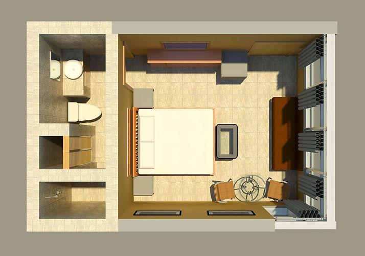 One Bedroom Suite, Las Cascdas  The Fall
