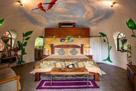 Baumkronen-Baldachin Combo, Hotel Las Cascadas Die Wasserfälle, Condotel Las Cascadas, Nationalpark Manuel Antonio, Manuel Antonio, Quepos, Costa Rica