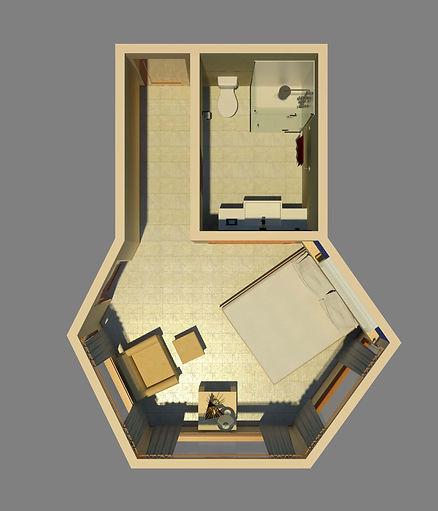 One Bedroom Condo, Las Cascadas The Fall