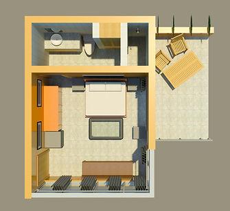 One Bedroom Suite, Las Cascadas, Manuel