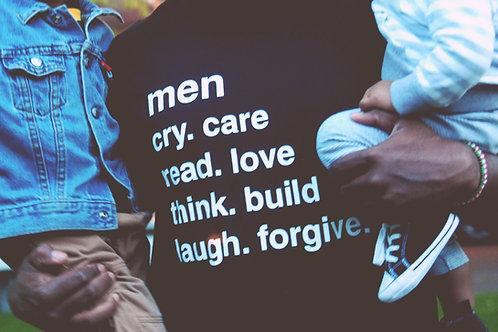 Men Qualities shirt (BLACK)