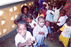 Obari Cartman in Ghana