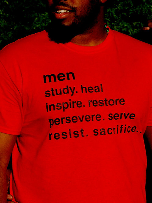 Men Qualities Shirt (RED)