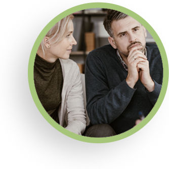 Couples counseling circle image