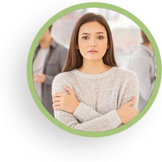 Anxiety circle image