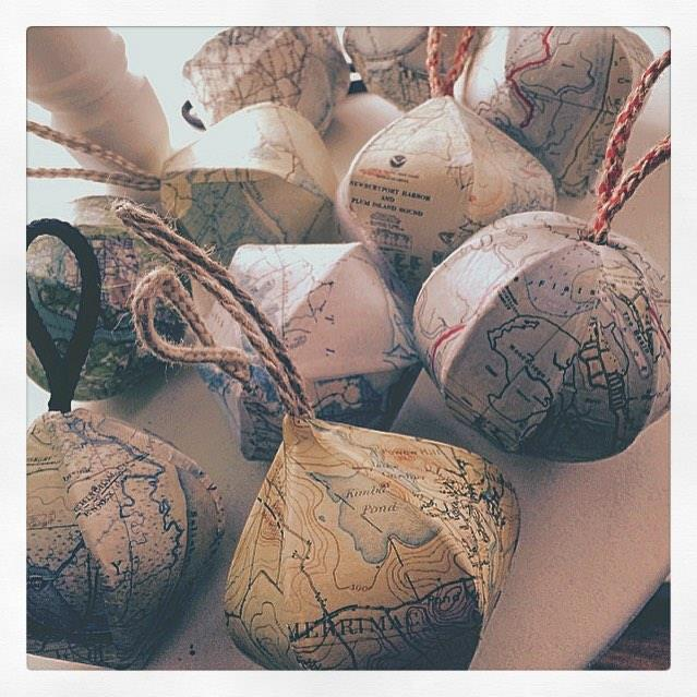 nautical mini-globes