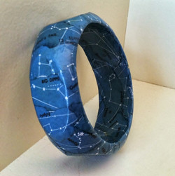constellation map bangle