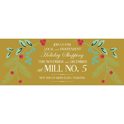 Back at _millno5 this week for one last pop up (and last event) of the year! Lots of events going on