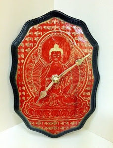 buddha clock