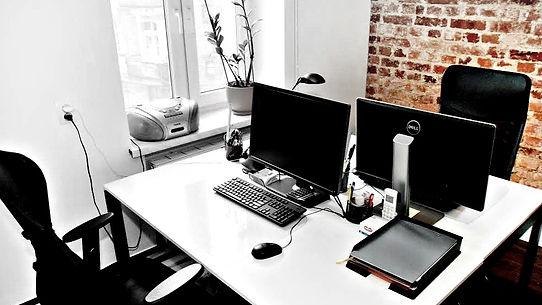 Projekt wnętrza biur w Katowicach