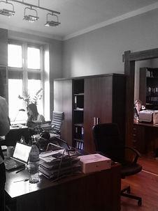 Projekt wnętrza biur w Katowicach  - biuro przed modernizacją