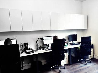 Projekt wnętrza biur w Katowicach  - biuro
