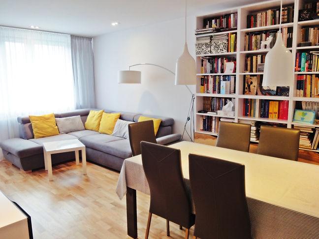 Projekt wnętrza mieszkania -salon