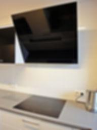 Projekt wnętrza mieszkania - kuchnia