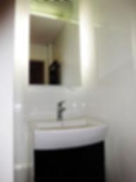Projekt wnętrza mieszkania - łazienka