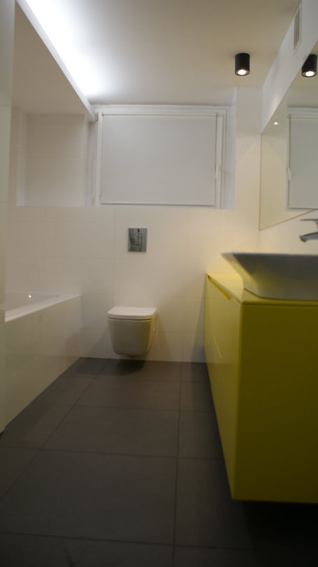 Projekt wnętrza w Bieruniu - łazienka