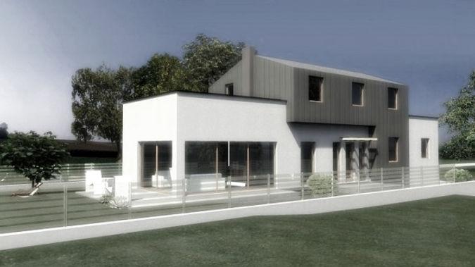 Projekt domu na wąskiej działce w Tychach