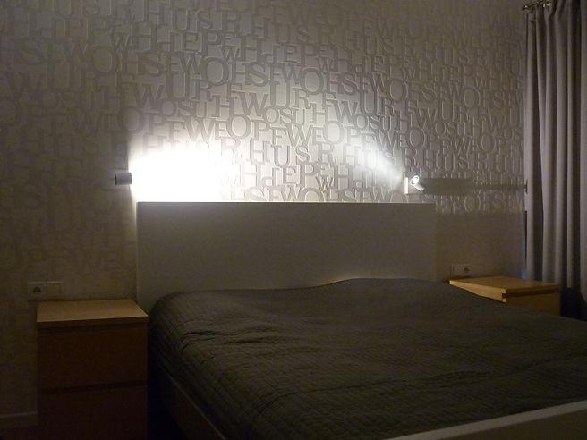 Projekt wnętrza w Bieruniu - sypialnia