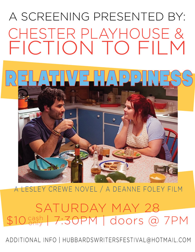 Relative Happiness at Chester Playhouse May 28.