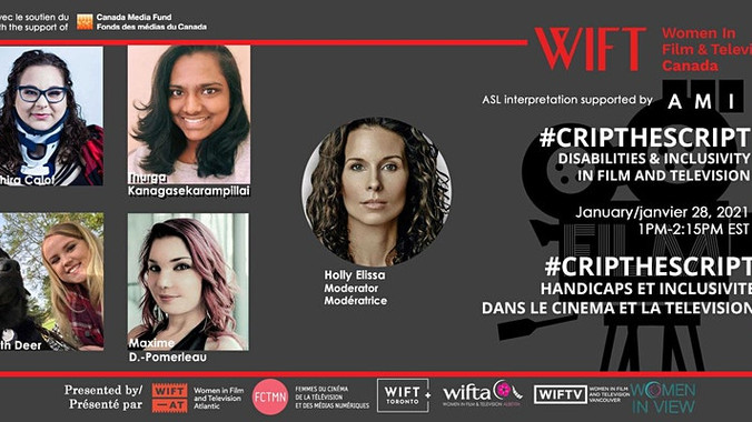 #CripTheScript: Disabilities and inclusivity in Film and Television Webinar
