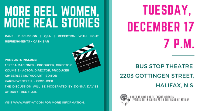 Join Us in December for More Reel Women, More Real Stories