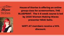 Join Nikki Saltz for an Online Screenwriting Course