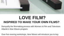 Demystify the filmmaking process - Sign up for New Waves!
