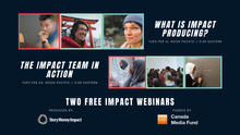 Two free webinars with Story Money Impact!