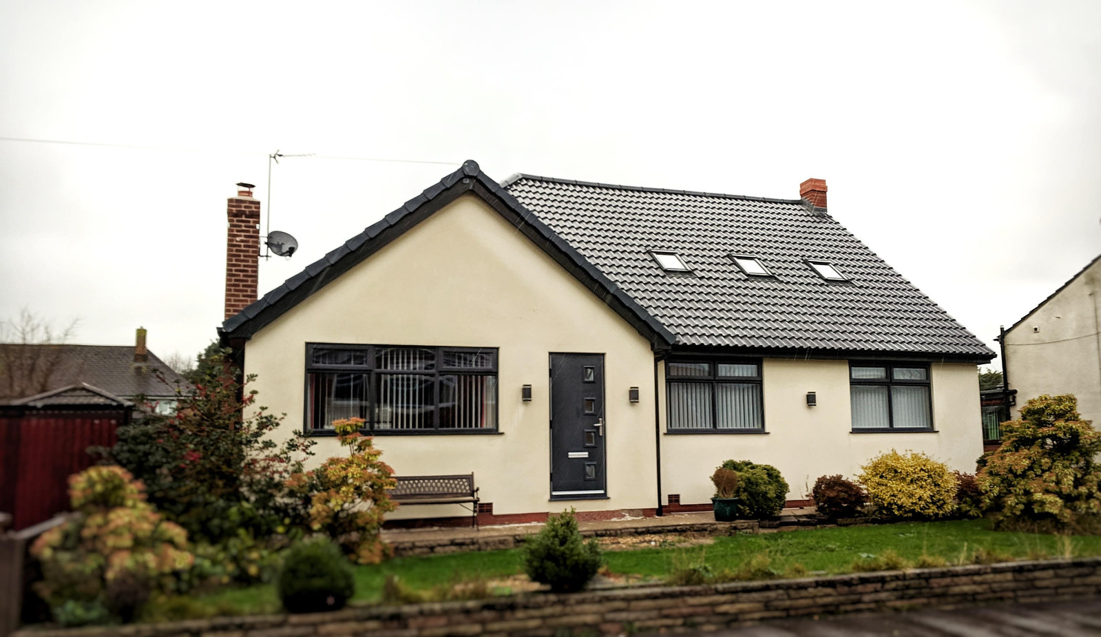 Full Refurbishment, Rear Extension and Dormer Conversion - After - Front Elevation