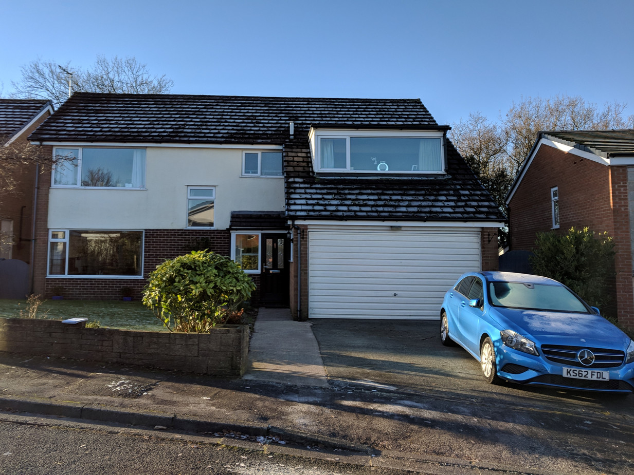 Replacement of Flat Roof Dormer - Before