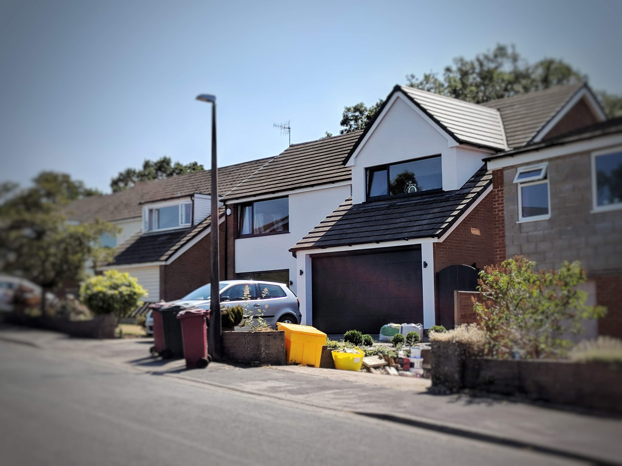 Replacement of Flat Roof Dormer - After