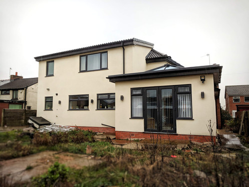 Full Refurbishment, Rear Extension and Dormer Conversion - After - Rear Elevation