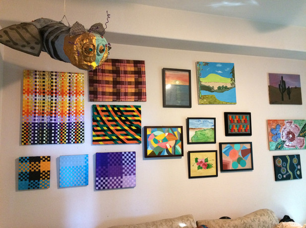 Shemi's gallery in our home