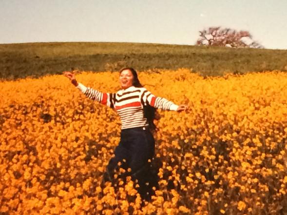 Shemi in Spring 1983, in Portola Valley, CA