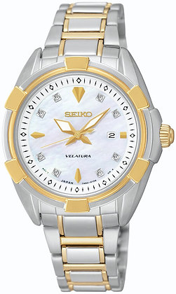SEIKO VELATURA 33MM SAFIR 100M 8 DIAMANTER XL