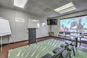Drug and Alcohol Treatmen Center Group Therapy Room