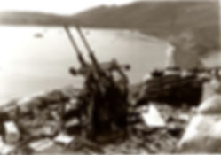 Battle of Attu in Alaska photo at the Prince William Sound Museum in Whittier Alaska