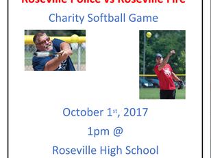 Guns & Hoses Charity Softball Game
