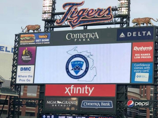 Tigers Give Back to Law Enforcement