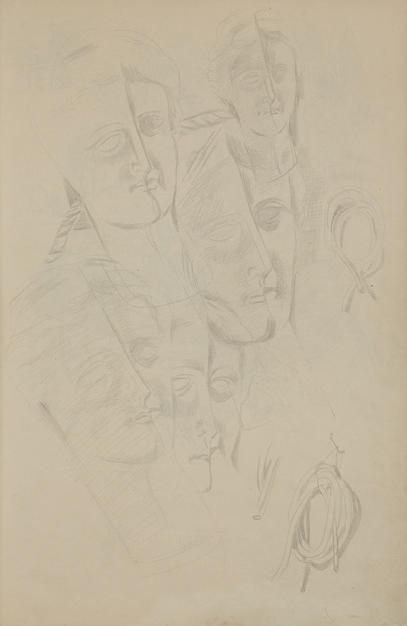Untitled VII, 1935 pencil on paper